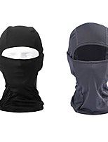 cheap -BigForest 2 pieces Motorcycle Cycling Face Mask Breathable Anti UV Face Mask Headgear Hats Lycra Balaclava Full Face Mask Neck Hood for Outdoor Motorcycle Cycling Sports Skiing Fishing Climbing A