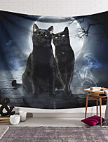 cheap -Wall Tapestry Art Decor Blanket Curtain Hanging Home Bedroom Living Room Decoration Polyester Cat Stone Brick