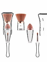 cheap -3 in 1 Professional Makeup Brush Set Foundation Blend Concealer Eye Liquid Cream Brush Set