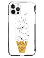 cheap -Ice Cream Instagram Style Case For Apple iPhone iPhone 12 11 SE2020 Unique Design Protective Case Shockproof Back Cover TPU Case for iPhone 12 Pro Max XR XS Max iPhone 8 Plus 7