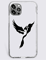 cheap -cartoon wing fashion case for apple iphone 12 iphone 11 iphone 12 pro max unique design protective case shockproof back cover tpu