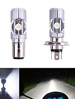 cheap -1pcs Motor led H4 BA20D 2MD Motorcycle Headlight Hi/Low Scooter Bulb CSP Bulb 12V-96V Lamp Motor Fog Headlamp Motorcycle Accessories