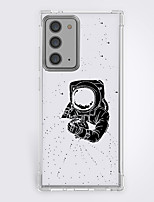 cheap -Astronaut Case For Samsung Galaxy S21 20 Plus S20 Ultra Note 20 10 S20 FE Design Protective Case Shockproof Back Cover TPU