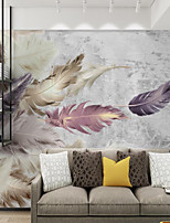 cheap -Feather Wallpaper Self-Adhesive Removable Peel and Stick Wallpaper Decorative Wall Covering for Wall Surface Cover Easy to Apply