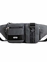 cheap -Chest Bags Waist Pack Shoulder Messenger Pack Casual Daypack Rucksack for Men Women Outdoor Cycling Hiking Sports (Grey)