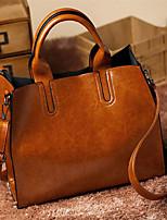 cheap -women ladies leather shoulder bag tote purse handbag messenger crossbody