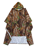 cheap -Men's Women's Waterproof Hiking Jacket Rain Jacket Outdoor Lightweight Windproof Breathable Quick Dry Raincoat Top Fishing Climbing Camping / Hiking / Caving ArmyGreen Big tree camouflage Blue Red