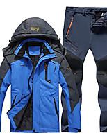 cheap -Winter Waterproof Fishing Thermal Pant Trekking Hiking Camping Skiing Climbing Outdoor Jackets Set