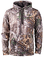 cheap -Men's Camouflage Hunting Jacket Pullover Hoodie Sweatshirt Outdoor Lightweight Windproof Breathable Quick Dry Jacket Top Fishing Climbing Camping / Hiking / Caving W1 W10 W11 W12 W13