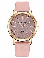 cheap -Redvive Top YOLAKO Women's Casual Quartz Leather Band Starry Sky Watch Analog Wrist Watch