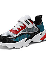 cheap -Boys' Girls' Trainers Athletic Shoes Comfort Elastic Fabric Little Kids(4-7ys) Big Kids(7years +) Daily Walking Shoes Black Blue Spring Fall