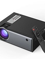cheap -OUKU W01 LCD Projector 2800 Lumens Support 1080P Input Multiple Ports Portable Smart Home Theater Projector Beamer With Remote Control