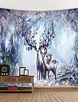 cheap -Wall Tapestry Art Decor Blanket Curtain Hanging Home Bedroom Living Room Decoration Dream Flower Elk