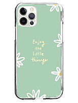 cheap -enjoy the little things fashion case for apple iphone 12 iphone 11 iphone 12 pro max unique design protective case shockproof back cover tpu instagram style case