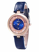 cheap -womens watches, shiny rhinestones quicksand faux leather quartz wristwatch