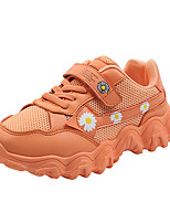 cheap -Boys' Girls' Trainers Athletic Shoes Comfort PU Little Kids(4-7ys) Big Kids(7years +) Daily Walking Shoes Pink Orange Green Spring Fall