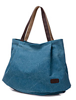 cheap -women canvas tote bags casual simple shoulder bags capacity shopping bags