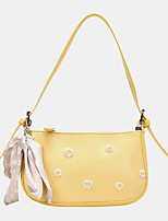 cheap -women dotted daisy printed shoulder bag