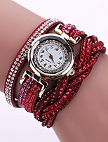 cheap -Women Fashion Watch Girls Quartz Elegant Wrist Watch with Shimmer Rhinestone Trim Strap