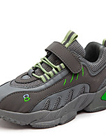 cheap -Boys' Girls' Trainers Athletic Shoes Comfort PU Little Kids(4-7ys) Big Kids(7years +) Daily Running Shoes Walking Shoes Black Pink Gray Spring Fall