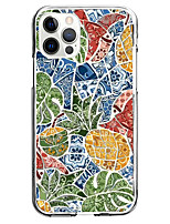 cheap -mosaic pineapple fashion case for apple iphone 12 iphone 11 iphone 12 pro max instagram style case unique design protective case shockproof back cover tpu