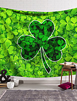 cheap -Saint Patrick's Day Wall Tapestry Art Decor Blanket Curtain Hanging Home Bedroom Living Room Decoration Polyester Shamrock Lucky