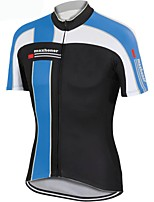 cheap -Women's Short Sleeve Cycling Jersey Black Patchwork Bike Top Mountain Bike MTB Road Bike Cycling Breathable Quick Dry Sports Clothing Apparel / Stretchy / Athleisure