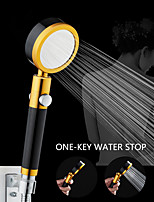 cheap -Handheld Metal Shower Head for Bathroom Durable Round High Pressure Water Saving Showerheads 360 Degree Rotated Pressurized Metal Shower with Filter