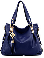 cheap -women casual pu leather pendant handbag crossbody bag