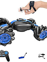 cheap -Rc Stunt Car Flips Car Gesture Sensor Remote Control Car Double-Sided Twist Racing Racing Deformation Car Drift Driving Dancing Off-Road Toy Car, Can Be Used As A Birthday Gift for Children Blue