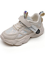 cheap -Boys' Girls' Trainers Athletic Shoes Comfort PU Little Kids(4-7ys) Big Kids(7years +) Daily Walking Shoes White Black Pink Spring Fall