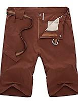 cheap -Men's Sportswear Ventilate Quick-Dry Climbing Lightweight Short Pants Wine Red XL