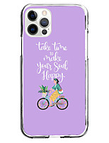 cheap -take time to make your soul happy case for apple iphone 12 iphone 11 iphone 12 pro max unique design protective case shockproof back cover tpu instagram style case