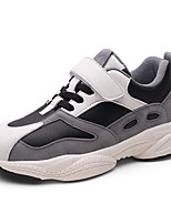 cheap -Boys' Girls' Trainers Athletic Shoes Comfort PU Little Kids(4-7ys) Big Kids(7years +) Daily Walking Shoes Black Pink Gray Spring Fall