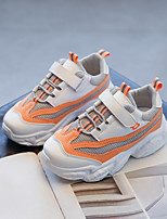 cheap -Boys' Girls' Trainers Athletic Shoes Comfort Mesh Little Kids(4-7ys) Big Kids(7years +) Daily Walking Shoes Black Pink Orange Spring Fall