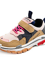 cheap -Boys' Girls' Trainers Athletic Shoes Comfort PU Little Kids(4-7ys) Big Kids(7years +) Daily Walking Shoes Black Pink Beige Spring Fall