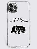 cheap -cartoon bear fashion case for apple iphone 12 iphone 11 iphone 12 pro max unique design protective case shockproof back cover tpu