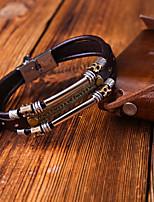 cheap -Women's Bracelet Geometrical Heart Stylish Simple Boho Plastics Bracelet Jewelry Black / Brown For Daily Promise