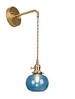 cheap -13cm led modern nordic wall light glass wall sconces bedroom dining room living room 110-120v 220-240v