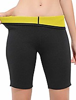 cheap -Unisex Waist Trainer Weight Loss Sauna Pants Slimming Body Shaper Hot Neoprene Sweat Capris Shorts