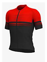 cheap -Men's Short Sleeve Downhill Jersey Red Green Bike Jersey Sports Clothing Apparel