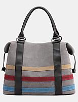 cheap -women patchwork canvas handbag crossbody bag