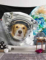 cheap -Wall Tapestry Art Decor Blanket Curtain Hanging Home Bedroom Living Room Decoration Polyester Spacesuit Dog Earth