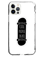 cheap -Skateboard Instagram Style Case For Apple iPhone 12 iPhone 11 iPhone 12 Pro Max Unique Design Protective Case Shockproof Back Cover TPU