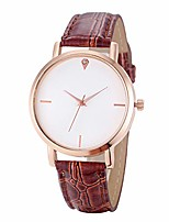 cheap -Watches for Girls,New 2019 Fashion Leather Band Watch Analog Quartz Diamond Wrist Watches(Coffee)