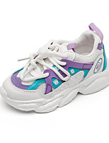 cheap -Boys' Girls' Trainers Athletic Shoes Comfort PU Little Kids(4-7ys) Big Kids(7years +) Daily Walking Shoes Purple Pink Gray Spring Fall