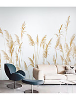 cheap -Reeds Wallpaper Self-Adhesive Removable Peel and Stick Wallpaper Decorative Wall Covering for Wall Surface Cover Easy to Apply