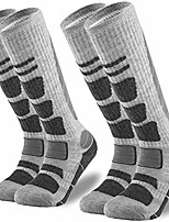 cheap -Ski Socks 2 Pairs Pack for Skiing, Snowboarding, Cold Weather, Winter Performance Socks