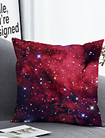 cheap -1 pcs Polyester Pillow Cover & Insert, Print Simple Classic Square Zipper Polyester Traditional Classic