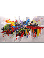 cheap -100% Hand-Painted Contemporary Art Oil Painting On Canvas Modern Paintings Home Interior Decor Abstract Pop Art Painting Large Canvas Art(Rolled Canvas without Frame)